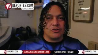 Golden Star Rangel lucha por el Gringo Loco en Eagles Club