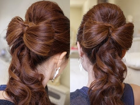 Beautiful Wedding Hair Bow Tutorial
