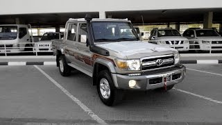 getlinkyoutube.com-Turbo Toyota Land Cruiser Pickup Diesel 2015 in Dubai