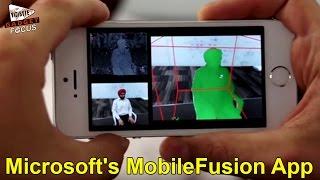 getlinkyoutube.com-Microsoft's MobileFusion App Turns Your Mobile into 3D Scanner