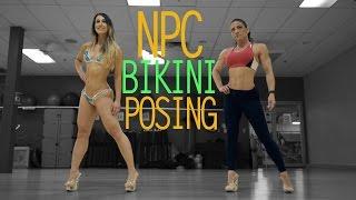 getlinkyoutube.com-Bikini Posing  - NPC - With IFBB Pro