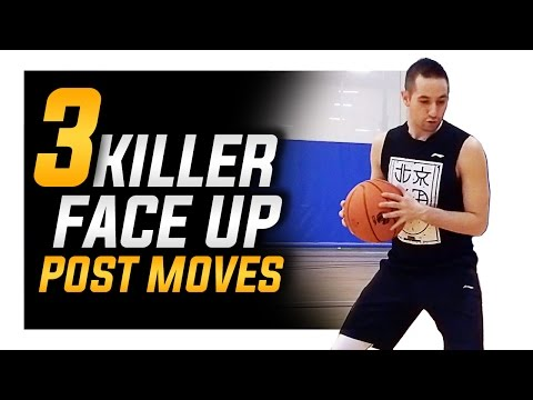 3 Killer Face Up Post Moves: Basketball Post Moves for Big Men