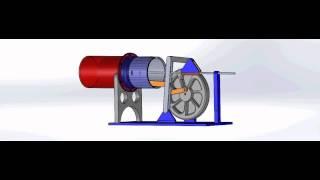 getlinkyoutube.com-New type Manson hot air engine