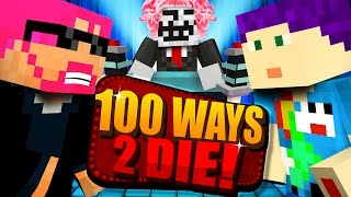 getlinkyoutube.com-Minecraft: 100 WAYS TO DIE CHALLENGE - HE CHOSE HIMSELF?!