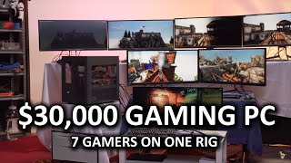 7 Gamers, 1 CPU - Ultimate Virtualized Gaming Build Log