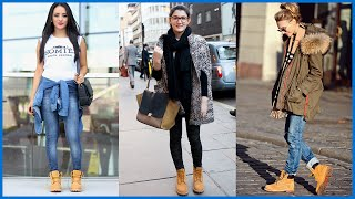 getlinkyoutube.com-How to Wear Timberland Boots for Girls