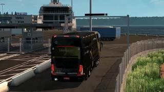 getlinkyoutube.com-Euro Truck Simulator 2 Bus trip to Poznan with Marcopolo Paradiso G7 1800 DD 8x2