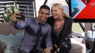 getlinkyoutube.com-Laura Prepon and Wilmer Valderrama On Their New NBC Shows