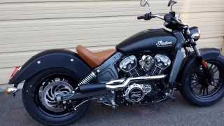 Trask 2in1 Indian Scout Exhaust