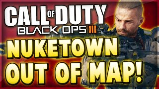 Black Ops 3 Glitches - Fully OUT OF THE MAP NUKETOWN Glitch! (COD BO3 Bypass Death Barriers Glitch)