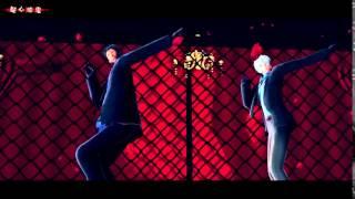 getlinkyoutube.com-【MMD黒バス】疑心暗鬼【青峰・黒子・緑間・黄瀬】
