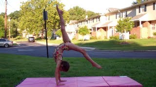 getlinkyoutube.com-Annie the Gymnast-Tumbling and More!