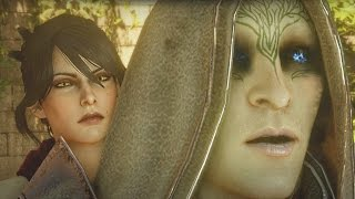 getlinkyoutube.com-Dragon Age Inquisition - Morrigan Kills Abelas & Drinks from the Well of Sorrows
