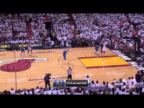 Mavs vs Heat - Finals 2011 Game 2 - last 7:38min part 2