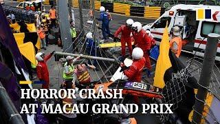 Horror Crash At Macau Grand Prix Leaves Five Injured