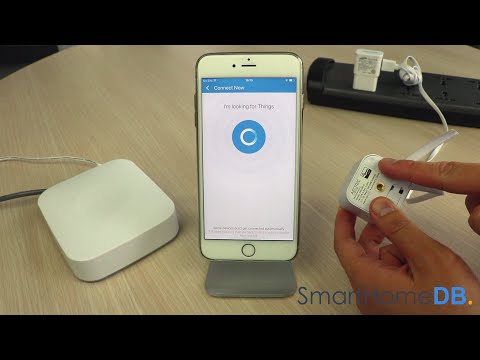 HOW-TO: Pair and Connect your Samsung SmartThings Hub with an Aeotec MultiSensor 6