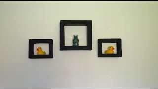 getlinkyoutube.com-How To Make Decorative wall shelves..