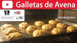 getlinkyoutube.com-GALLETAS DE AVENA | Vicky Receta Facil