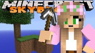 getlinkyoutube.com-Minecraft Skyblock - Little Kelly - OUR FIRST SKYBLOCK!