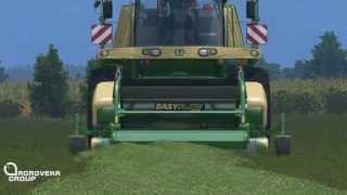 "getlinkyoutube.com-AgrovekaGroup ""Ž.Ū.B"" | Making silage #1 | Farming Simulator 2015(Multiplayer)"
