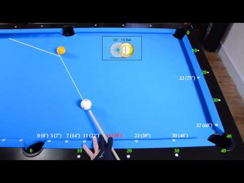 Side Pocket Cut Shots Drill - Angle Fraction Ball Aiming System - Pool & Billiard training lesson