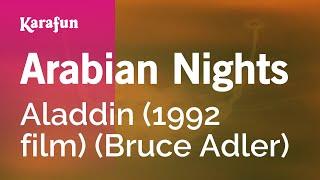 Karaoke Arabian Nights   Aladdin *