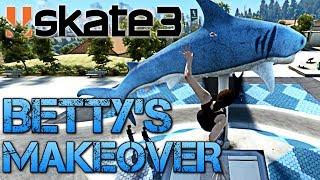 getlinkyoutube.com-Skate 3 - Part 5 | BETTY'S MAKEOVER | COFFIN OVER THE SHARK