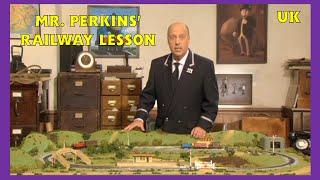 Mr Perkins' Railway Lesson - UK - HD