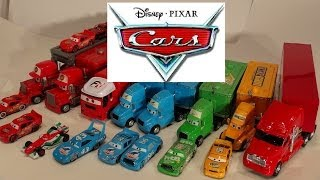 getlinkyoutube.com-Pixar Cars, The Haulers , with Lightning McQueen, Mack and more