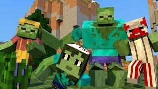 getlinkyoutube.com-Minecraft Mods - LEFT FOR DEAD REALISTA!! - LEFT FOR DEAD MOD