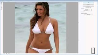 getlinkyoutube.com-Photoshop - Comment augmenter ou diminuer les formes (maigrir ou grossir)