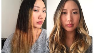 getlinkyoutube.com-VLOG | Ombre from hell (before and after)