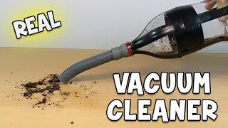 How To Make a Vacuum Cleaner