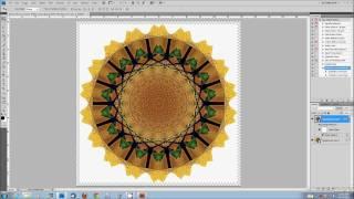 getlinkyoutube.com-Create a Mandala Effect Using Photoshop Extended or CC