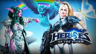 getlinkyoutube.com-♥ Heroes of the Storm (Gameplay) - Nova + Tyrande Dream Team (HoTs Quick Match)