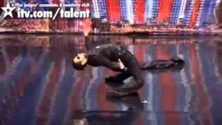 getlinkyoutube.com-Guy Does Unbelievable 'Matrix' Dance on 'Britain's Got Talent
