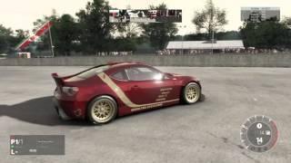 getlinkyoutube.com-500HP Rocket Bunny FRS Drifting (Project CARS)