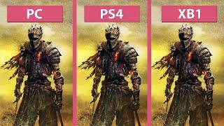 getlinkyoutube.com-Dark Souls 3 – PC vs. PS4 vs. Xbox One Graphics Comparison