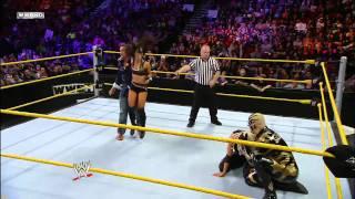 getlinkyoutube.com-WWE NXT : Aksana vs AJ Lee