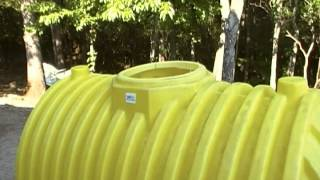getlinkyoutube.com-A 500 gallon septic tank for a cache or small underground shelter.