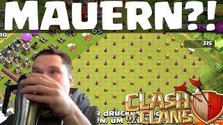 getlinkyoutube.com-[facecam] MAUERN?! || CLASH OF CLANS || Let's Play COC [Deutsch/German HD]