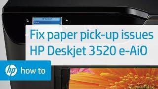 getlinkyoutube.com-Fixing Paper Pick Up Issues - HP Deskjet 3520 e-All-in-One Printer