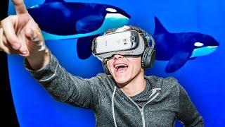 getlinkyoutube.com-Samsung Gear VR Innovator Edition for S6 (Powered By Oculus) Reaction - RussoTalks