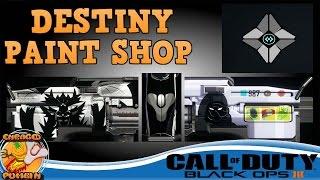 getlinkyoutube.com-Black Ops 3 -  Destiny Paint Shop And Emblem
