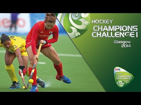 Korea v India - Women's Champions Challenge I - Pool A