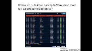 Zarada na kladionici - Profesionalni klub