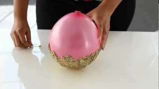getlinkyoutube.com-Miss Kris: DIY Glitter Accent Bowl
