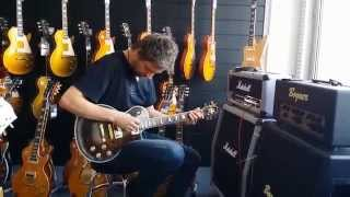 getlinkyoutube.com-My first handmade guitar test / AMG SB (Saucy Beauty) Gibson LP Style