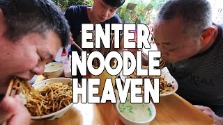 Spicy Chinese Noodles in Sichuan, China   Enter Noodle Heaven 2 width=