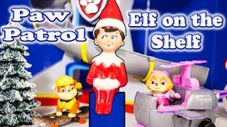 getlinkyoutube.com-PAW PATROL Nickelodeon Elf on the Shelf Toys Video